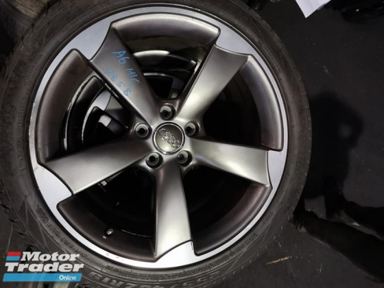 AUDI A6 C7 HYBIRD SPORT RIM AND TYRES