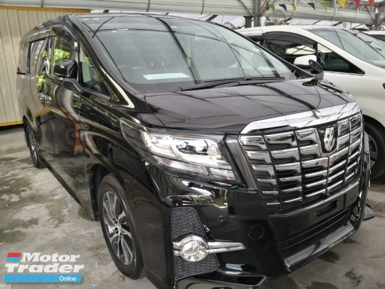 2015 TOYOTA ALPHARD 2.5S Unreg 2015 7 Seater Sunroof & Moonroof Tip Top Condition