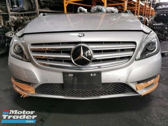 MERCEDES B CLASS W246 180 HALF CUT AND REAR CUT Half-cut