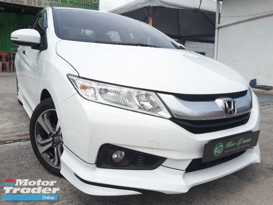 2016 HONDA CITY 1.5 V SPEC MODULO CUSTOM PERFORMANCE