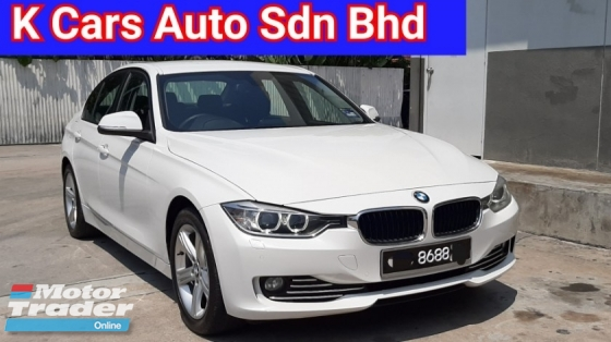 2015 BMW 3 SERIES 316i F30 (CKD) 1.6 Turbo Go With Nice Number 8688 Full Service History By BMW Excellent Condition Free Warranty Worth Buy