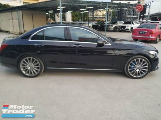2017 MERCEDES-BENZ C-CLASS C350E =FULL SERVICE RECORD= MUST VIEW= CANTIK MACAM BARU= YEAR 2017