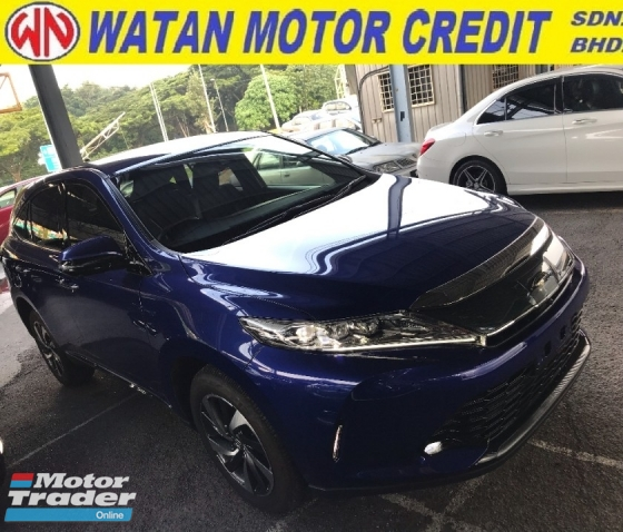 2017 TOYOTA HARRIER 2.0 TURBO FACELIFT 3 LED POWER BOOTH 4 CAMERA LEATHER SEAT 2017 JPN UNREG