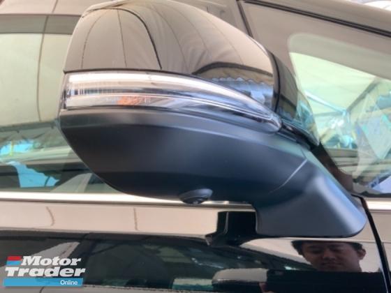 2018 TOYOTA ALPHARD 2.5 S facelift sunroof power boot surround camera 2 power doors precrash system unregistered