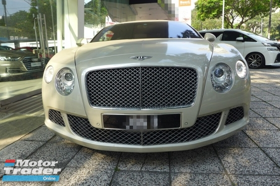 2011 BENTLEY CONTINENTAL GT W12 IMPORTED NEW
