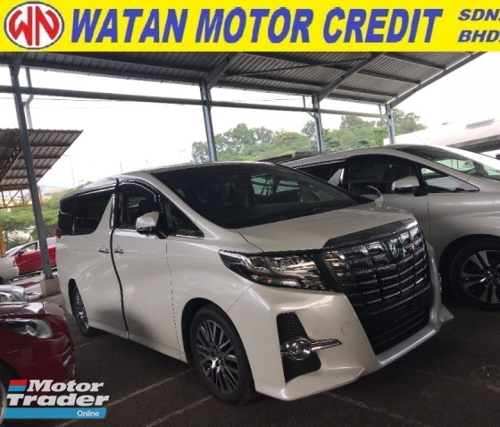 2015 TOYOTA ALPHARD 2.5 SC SUNROOF ALPINE 4 SURROUND CAMERA 2015 JAPAN UNREG