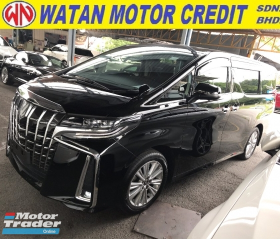 2018 TOYOTA ALPHARD 2.5 S LATEST FACELIFT 7 SEAT SUNROOF POWER BOOTH 4 CAMERA 2018 JPN UNREG