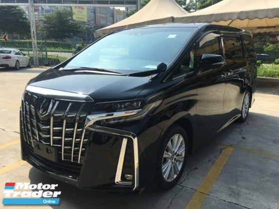 2018 TOYOTA ALPHARD 2.5 NEW MODEL MPV SUN ROOF POWER BOAT FULL VIEW CAMERA