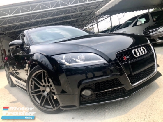 2012 AUDI TT 2.0 TFSI (A) FACELIFT S-LINE LIMITED BLACK EDITION