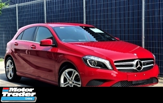2015 MERCEDES-BENZ A-CLASS A180 SPECIAL EDITION + BLAZING RED COLOR + NEW FACELIFT + JAPAN PREMIUM SELECTION SPEC UNREGISTERED