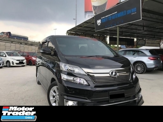 2014 TOYOTA VELLFIRE 3.5V L EDITION FULL SPEC - FULLY LOADED - LIKE NEW - WARRRANTY - KUALITI DIJAMINKAN - MEGA SALE OFFER - DEAL SAMPAI JADI