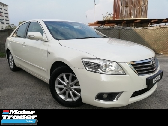 2010 TOYOTA CAMRY 2.0E 1-OWNER FACELIFT TIP-TOP