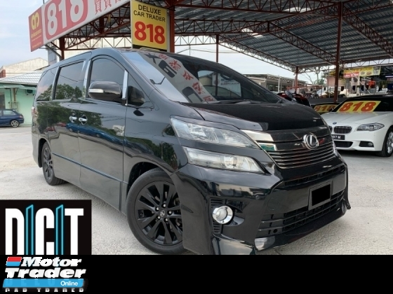2008 TOYOTA VELLFIRE 2.4ZG Edition 2.4 ZG Facelifl Power Door Sunroof p/door keyless like new