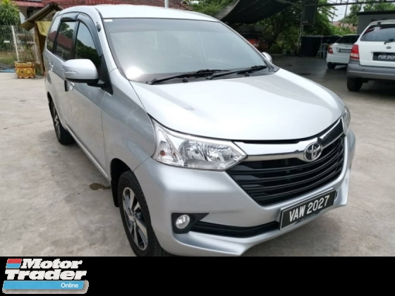 2017 TOYOTA AVANZA 1.5 G Facelift (A) - Low Mileage