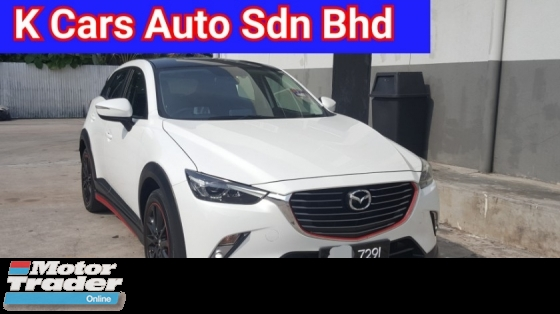 2017 MAZDA CX-3 (CBU) 2.0 (A) Skyactiv Limited Sport Edition 28k Km Mileage Confirm Never Accident Before Super Condition No Repair Need Worth Buy