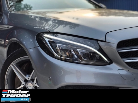 2016 MERCEDES-BENZ C-CLASS C250 AMG LINE FACELIFT LOW MILEAGE C&C SUNROOF PADDELSHIT LIKE NEW CONDITION