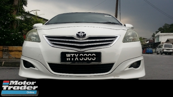 2010 TOYOTA VIOS auto Full TRD Body kit
