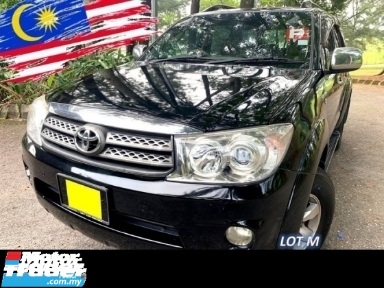 2008 TOYOTA FORTUNER 2.7V TRD SPORTIVO (A) NEW FACELIFT 4WD SALE