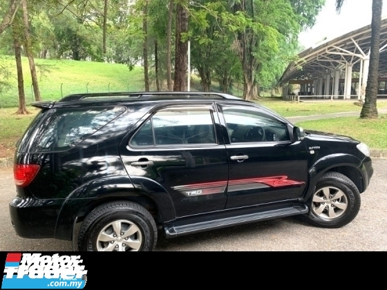 2009 TOYOTA FORTUNER 2.7V TRD SPORTIVO (A) NEW FACELIFT 4WD SALE