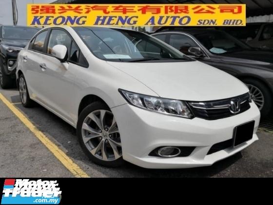 2013 HONDA CIVIC 2.0S Navi TRUE YEAR MADE 2013 Low Mil Full Service Honda Malaysia