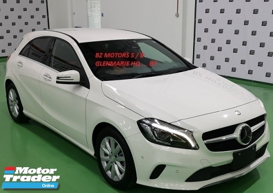 2016 MERCEDES-BENZ A-CLASS 2016 MERCEDES BENZ A180 SE 1.6 TURBO NEW UNREG JAPAN SPEC CAR SELLING PRICE ONLY RM 135000.00 NEGO