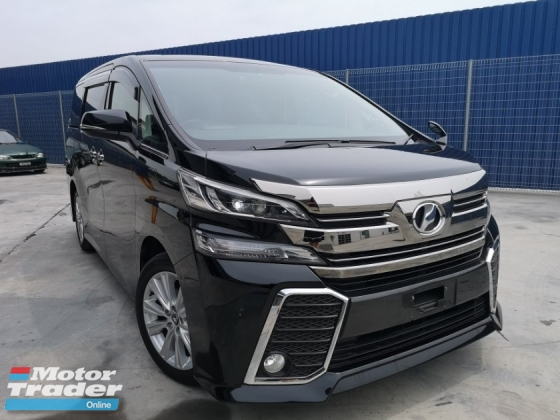 2015 TOYOTA VELLFIRE 2.5 Z [4 YEARS WARRANTY MERDEKA PROMOTION] LOWEST PRICE IN TOWN