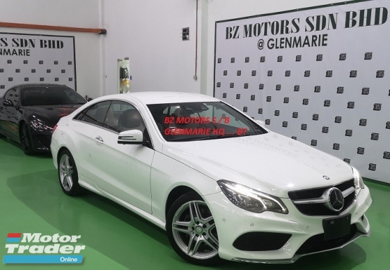 2014 MERCEDES-BENZ E-CLASS 2014 MERCEDES BENZ E250 2.0 AMG COUPE JAPAN SPEC SELLING PRICE ( RM 188,000.00 NEGO )