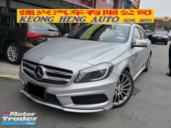 2014 MERCEDES-BENZ A-CLASS A180 AMG Japan Spec TRUE YEAR MADE 2014 Selling Cheap