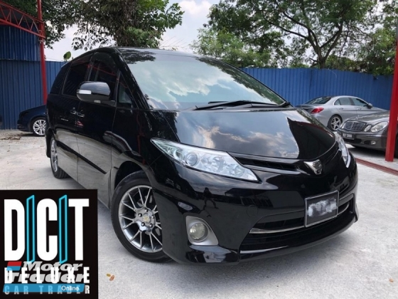 2011 TOYOTA ESTIMA 2.4 AERAS G DUAL POWER DOOR ELETCTRIC SEAT ORI LEATHER SEAT DUAL HD CAMERA FRONT AND BACK IONIZER AIRCOND