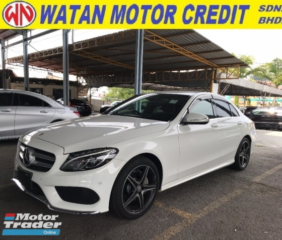 2014 MERCEDES-BENZ C-CLASS C180 AMG SPORT JAPAN MEMORY LEATHER SEAT KEYLESS PUSHSTART PRE CRASH 2014 UNREG