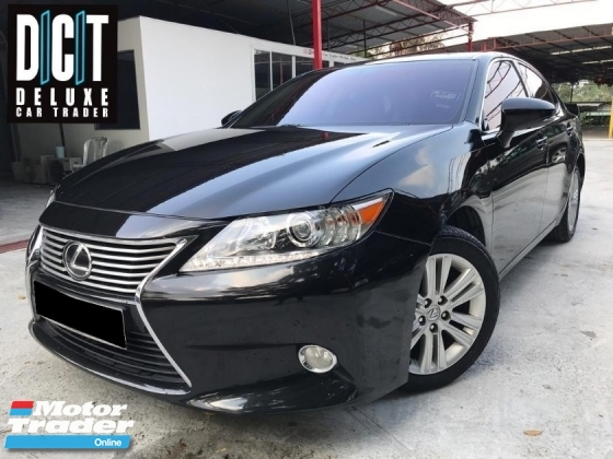 2014 LEXUS ES250 LUXURY HIGH SPEC PREMIUM SPEC ONE OWNER LOW MILEAGE TIPTOP CONDITION