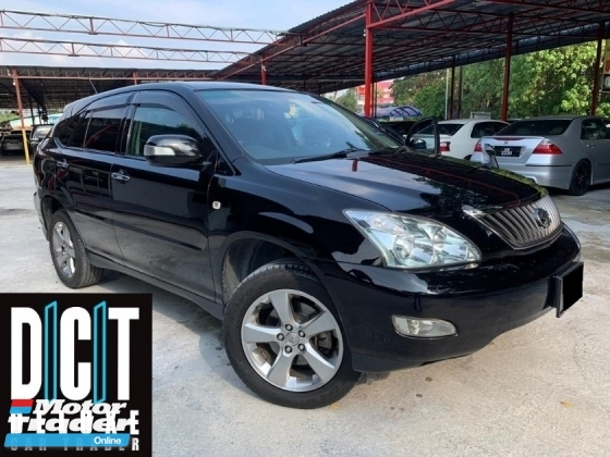 2009 TOYOTA HARRIER 240G PREMIUM HIGH SPEC POWER BOOT LIKE NEW CONDITION 1 OWN