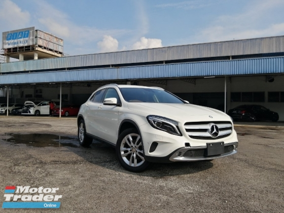 2015 MERCEDES-BENZ GLA 180 OFFROAD PACKAGE JAPAN SPEC UNREGISTERED