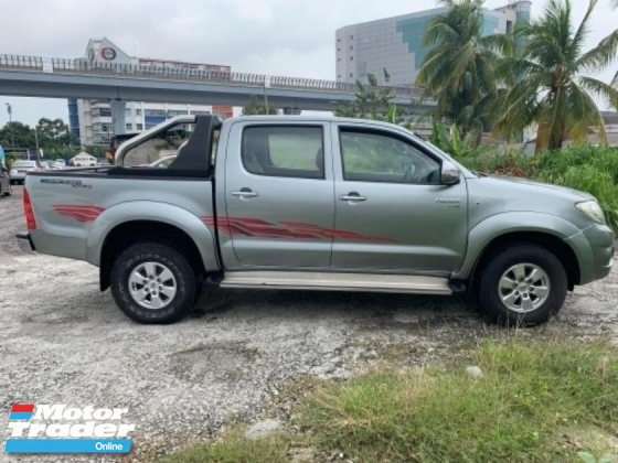 2010 TOYOTA HILUX DOUBLE CAB 2.5G (AT)