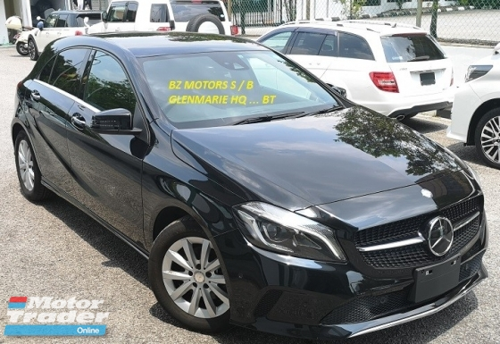 2016 MERCEDES-BENZ A-CLASS 2016 MERCEDES BENZ A180 SE 1.6 TURBO NEW UNREG JAPAN SPEC CAR SELLING PRICE ONLY RM 139,000.00
