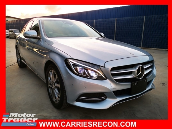 2014 MERCEDES-BENZ C-CLASS C200 AVANTGARDE - JAPAN SPEC - UNREG - GOOD CONDITION