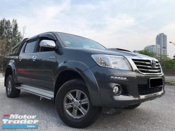 2017 TOYOTA HILUX 2.5G VNT (A) 4WD NEW F/LIFT ENGINE