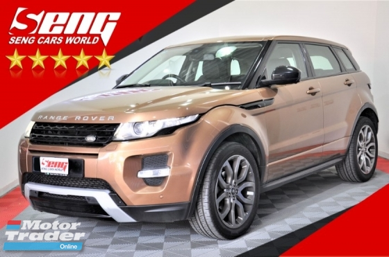 2015 LAND ROVER EVOQUE Si4 2.0 CBU