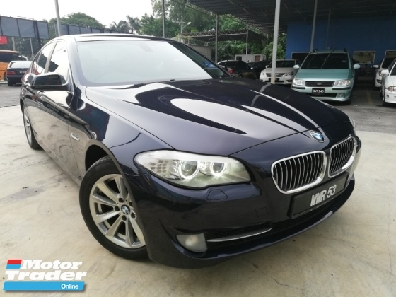 2012 BMW 5 SERIES 520I LIMOUSINE 2.0 CKD F10 TWIN POWER TURBO