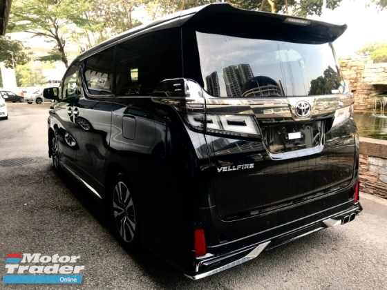 2018 TOYOTA VELLFIRE 2.5 ZG Edition [MODELLISTA - ALPINE MONITOR - SUNROOF - 3LED] FOR LIMITED UNIT PROMOTION LOWEST PRICE IN MARKET