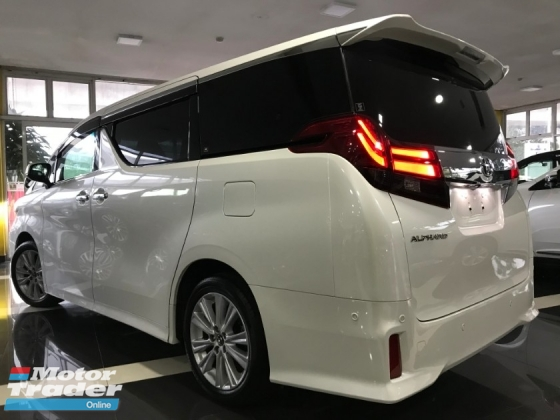2015 TOYOTA ALPHARD 2.5 SA Edition SPEC- ALPINE DVD , ALPINE MONITOR , PRE-CRASH [MERDEKA PROMOTION LIMITED TIME] LOWEST PRICE IN TOWN