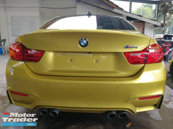 2015 BMW M4 3.0 DCT Coupe Unreg (Full Loaded)