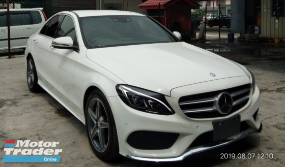 2016 MERCEDES-BENZ C-CLASS C180 AMG on the road RM198,888 From~Japan
