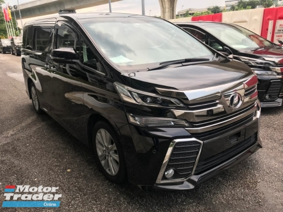 2015 TOYOTA VELLFIRE 2.5 ZA Edition [GUARANTEE LOWEST PRICE IN TOWN MERDEKA PROMOTION] CALL ME NOW