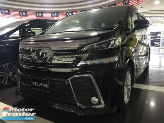 2015 TOYOTA VELLFIRE 2.5 Z Edition 7 SEATER [PRICE INCLUDE SST] MERDEKA SPECIAL OFFER IF LOOKING FOR OTHER SPEC PLEASE CALL ME