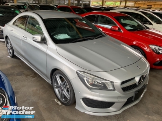 2016 MERCEDES-BENZ CLA 250 AMG sport package memory seat back camera precrash system unregistered
