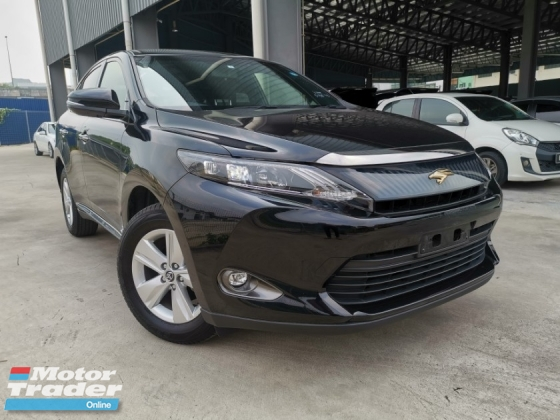 2015 TOYOTA HARRIER 2.0 ELEGANCE ALPINE UNIT BLACK UNREG