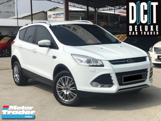 2015 FORD KUGA ECOBOOST CBU SPEC POWER BOOT 1 OWNER LOW MILEAGE