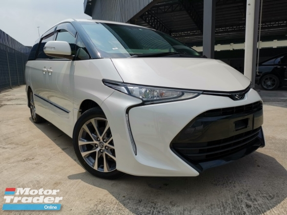 2018 TOYOTA ESTIMA 2.4 AERAS WHITE OFFER UNREG