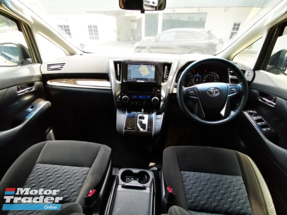 2015 TOYOTA ALPHARD 2.5 S Edition SUNROOF MOONROOF [ MERDEKA PROMOTION LOWEST PRICE IN TOWN ] 4 YEARS WARRANTY CALL ME NOW BEFORE TOO LATE